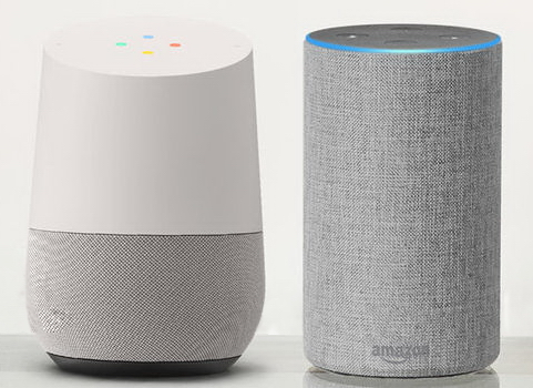Googles Echo og Amazons Alexa