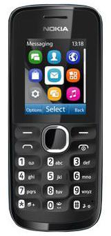 Nokia model 110 med KiaOS. Pris omkring dkr. 320,-